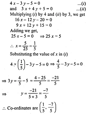 ML Aggarwal Class 10 Solutions for ICSE Maths Chapter 12 Equation of a Straight Line Ex 12.2 25