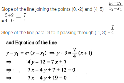 ML Aggarwal Class 10 Solutions for ICSE Maths Chapter 12 Equation of a Straight Line Ex 12.2 29