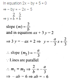 ML Aggarwal Class 10 Solutions for ICSE Maths Chapter 12 Equation of a Straight Line Ex 12.2 3