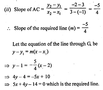 ML Aggarwal Class 10 Solutions for ICSE Maths Chapter 12 Equation of a Straight Line Ex 12.2 31