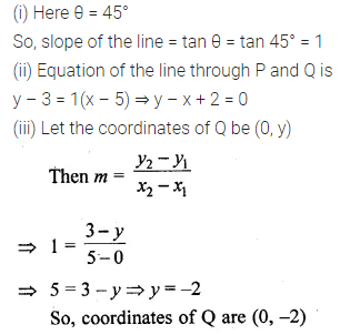 ML Aggarwal Class 10 Solutions for ICSE Maths Chapter 12 Equation of a Straight Line Ex 12.2 33