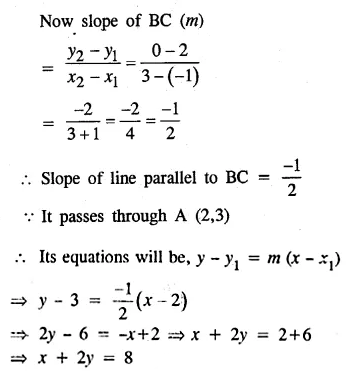 ML Aggarwal Class 10 Solutions for ICSE Maths Chapter 12 Equation of a Straight Line Ex 12.2 36