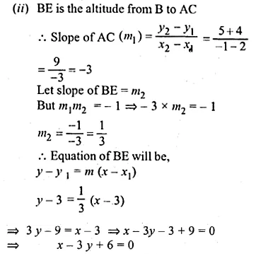 ML Aggarwal Class 10 Solutions for ICSE Maths Chapter 12 Equation of a Straight Line Ex 12.2 40
