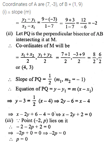 ML Aggarwal Class 10 Solutions for ICSE Maths Chapter 12 Equation of a Straight Line Ex 12.2 42