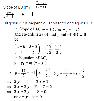 ML Aggarwal Class 10 Solutions for ICSE Maths Chapter 12 Equation of a Straight Line Ex 12.2 43