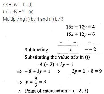 ML Aggarwal Class 10 Solutions for ICSE Maths Chapter 12 Equation of a Straight Line Ex 12.2 45