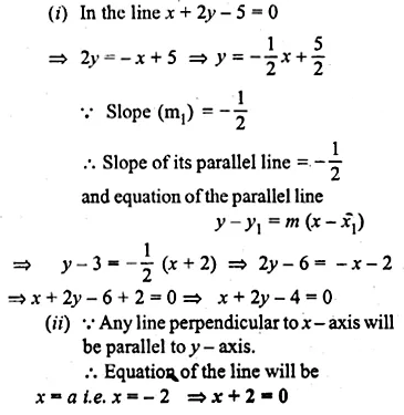 ML Aggarwal Class 10 Solutions for ICSE Maths Chapter 12 Equation of a Straight Line Ex 12.2 46