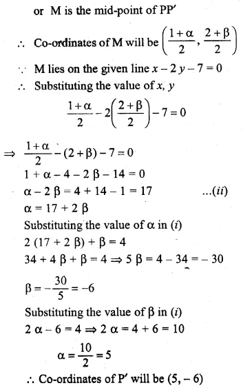 ML Aggarwal Class 10 Solutions for ICSE Maths Chapter 12 Equation of a Straight Line Ex 12.2 50