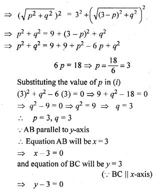 ML Aggarwal Class 10 Solutions for ICSE Maths Chapter 12 Equation of a Straight Line Ex 12.2 54