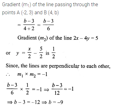 ML Aggarwal Class 10 Solutions for ICSE Maths Chapter 12 Equation of a Straight Line Ex 12.2 9