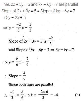 ML Aggarwal Class 10 Solutions for ICSE Maths Chapter 12 Equation of a Straight Line MCQS 12