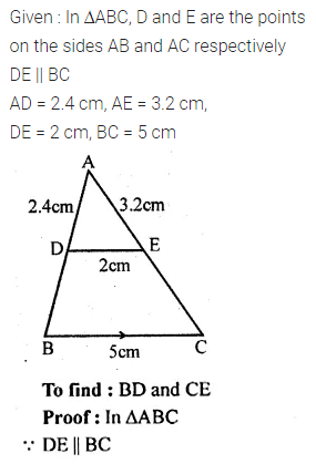 ML Aggarwal Class 10 Solutions for ICSE Maths Chapter 13 Similarity Chapter Test 11