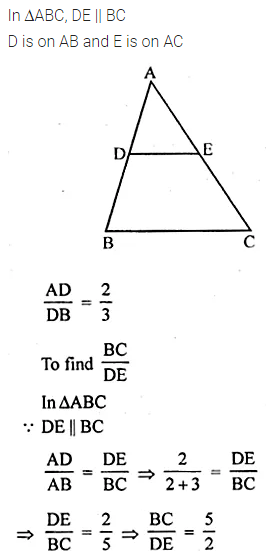 ML Aggarwal Class 10 Solutions for ICSE Maths Chapter 13 Similarity Chapter Test 14