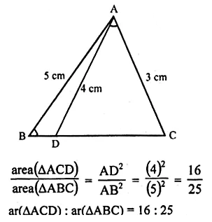 ML Aggarwal Class 10 Solutions for ICSE Maths Chapter 13 Similarity Chapter Test 18
