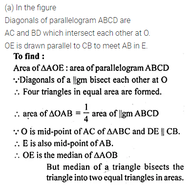 ML Aggarwal Class 10 Solutions for ICSE Maths Chapter 13 Similarity Chapter Test 20