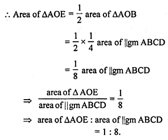ML Aggarwal Class 10 Solutions for ICSE Maths Chapter 13 Similarity Chapter Test 21
