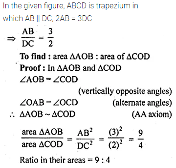 ML Aggarwal Class 10 Solutions for ICSE Maths Chapter 13 Similarity Chapter Test 23