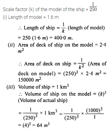 ML Aggarwal Class 10 Solutions for ICSE Maths Chapter 13 Similarity Chapter Test 26