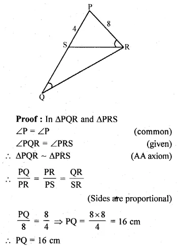 ML Aggarwal Class 10 Solutions for ICSE Maths Chapter 13 Similarity Ex 13.1 24