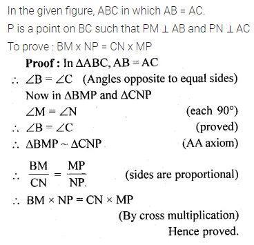 ML Aggarwal Class 10 Solutions for ICSE Maths Chapter 13 Similarity Ex 13.1 26