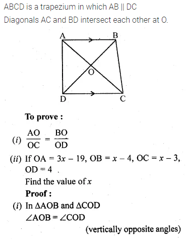 ML Aggarwal Class 10 Solutions for ICSE Maths Chapter 13 Similarity Ex 13.1 29