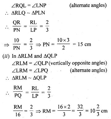 ML Aggarwal Class 10 Solutions for ICSE Maths Chapter 13 Similarity Ex 13.1 36