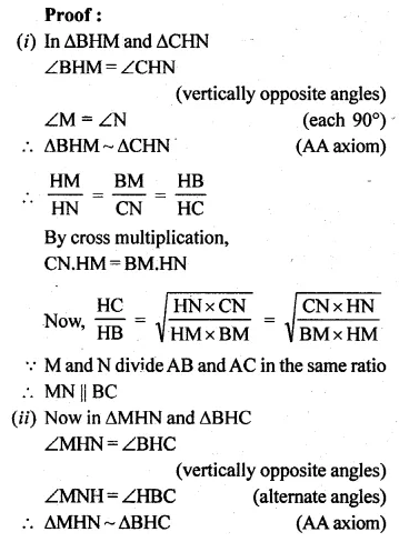 ML Aggarwal Class 10 Solutions for ICSE Maths Chapter 13 Similarity Ex 13.1 38