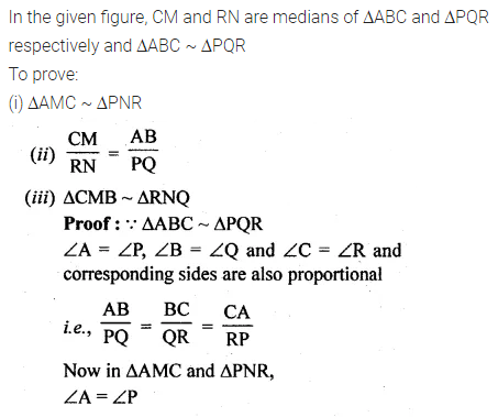 ML Aggarwal Class 10 Solutions for ICSE Maths Chapter 13 Similarity Ex 13.1 40