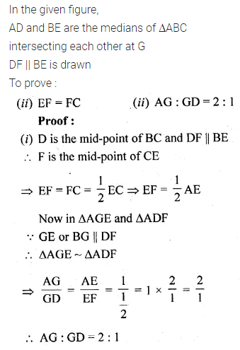 ML Aggarwal Class 10 Solutions for ICSE Maths Chapter 13 Similarity Ex 13.1 43