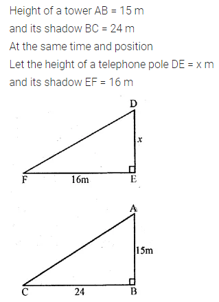 ML Aggarwal Class 10 Solutions for ICSE Maths Chapter 13 Similarity Ex 13.1 50