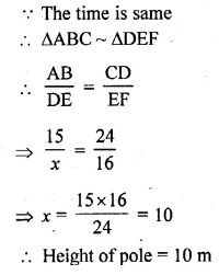 ML Aggarwal Class 10 Solutions for ICSE Maths Chapter 13 Similarity Ex 13.1 51