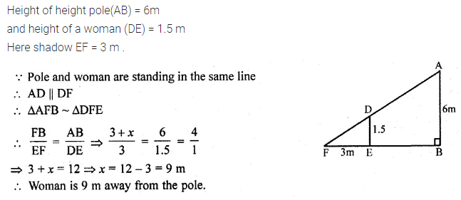 ML Aggarwal Class 10 Solutions for ICSE Maths Chapter 13 Similarity Ex 13.1 52