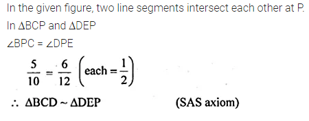 ML Aggarwal Class 10 Solutions for ICSE Maths Chapter 13 Similarity Ex 13.1 6