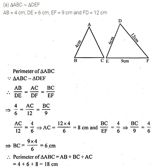 ML Aggarwal Class 10 Solutions for ICSE Maths Chapter 13 Similarity Ex 13.1 9