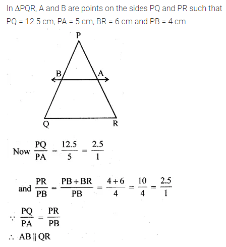 ML Aggarwal Class 10 Solutions for ICSE Maths Chapter 13 Similarity Ex 13.2 10
