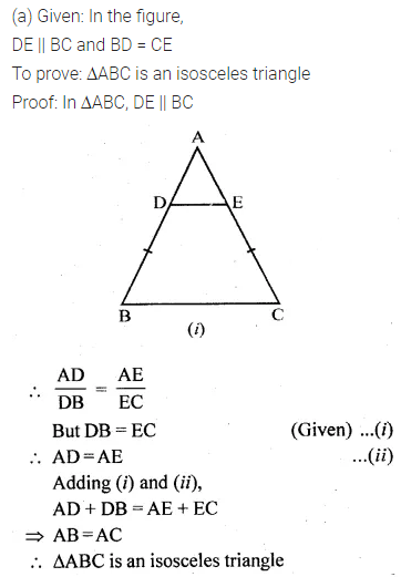 ML Aggarwal Class 10 Solutions for ICSE Maths Chapter 13 Similarity Ex 13.2 11