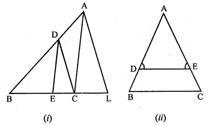 ML Aggarwal Class 10 Solutions for ICSE Maths Chapter 13 Similarity Ex 13.2 13