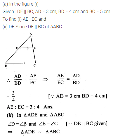 ML Aggarwal Class 10 Solutions for ICSE Maths Chapter 13 Similarity Ex 13.2 2
