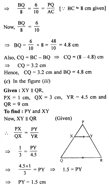 ML Aggarwal Class 10 Solutions for ICSE Maths Chapter 13 Similarity Ex 13.2 4