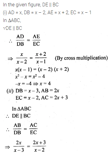 ML Aggarwal Class 10 Solutions for ICSE Maths Chapter 13 Similarity Ex 13.2 7