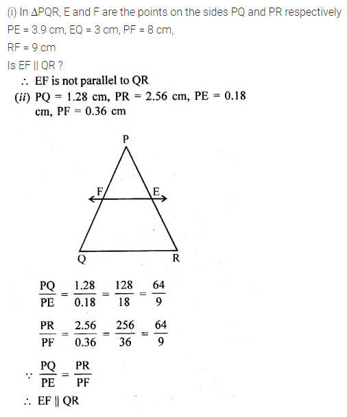 ML Aggarwal Class 10 Solutions for ICSE Maths Chapter 13 Similarity Ex 13.2 9