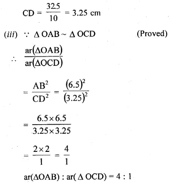 ML Aggarwal Class 10 Solutions for ICSE Maths Chapter 13 Similarity Ex 13.3 10