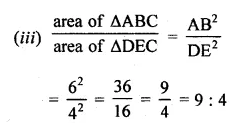 ML Aggarwal Class 10 Solutions for ICSE Maths Chapter 13 Similarity Ex 13.3 22