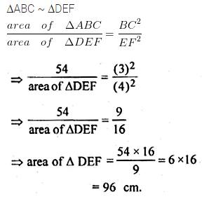 ML Aggarwal Class 10 Solutions for ICSE Maths Chapter 13 Similarity Ex 13.3 3