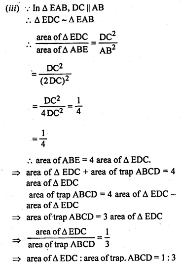 ML Aggarwal Class 10 Solutions for ICSE Maths Chapter 13 Similarity Ex 13.3 41
