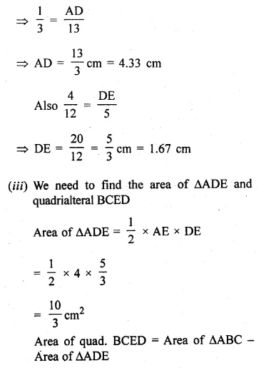 ML Aggarwal Class 10 Solutions for ICSE Maths Chapter 13 Similarity Ex 13.3 49