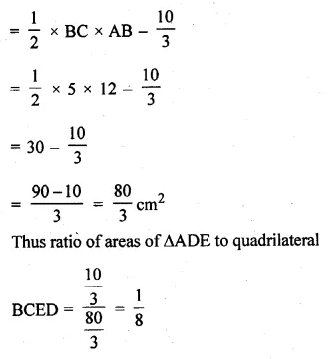 ML Aggarwal Class 10 Solutions for ICSE Maths Chapter 13 Similarity Ex 13.3 50