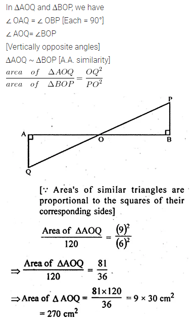 ML Aggarwal Class 10 Solutions for ICSE Maths Chapter 13 Similarity Ex 13.3 7