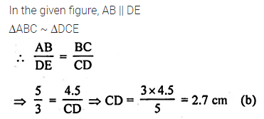 ML Aggarwal Class 10 Solutions for ICSE Maths Chapter 13 Similarity MCQS 12