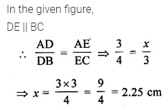 ML Aggarwal Class 10 Solutions for ICSE Maths Chapter 13 Similarity MCQS 16